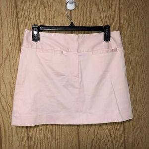 Theory Light Pink Mini Skirt